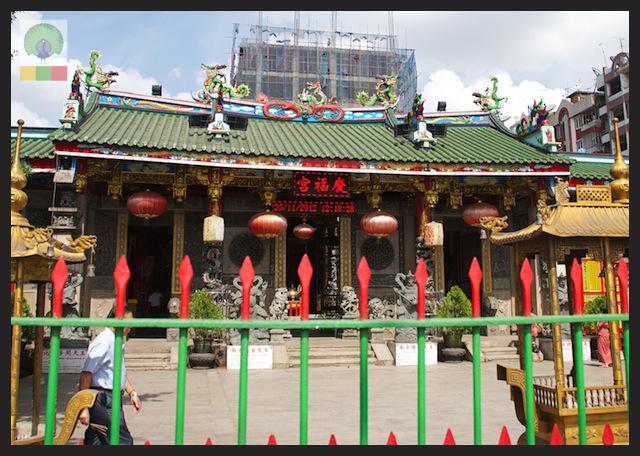 Kheng Hock Keong Chinese Temple - Yangon - Myanmar (Burma) 7