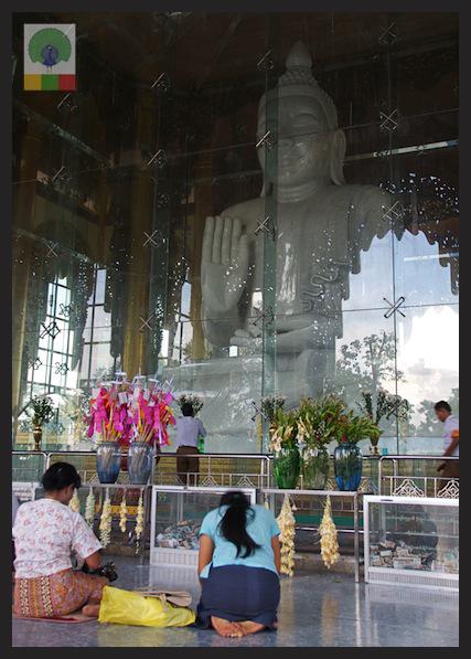 Kyauk Daw Kyi Pagoda - Marble Buddha - Insein Township - Yangon - Myanmar (Burma) 5