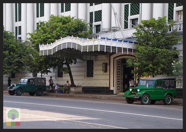 Mazda Pathfinder Station Wagon XV-1 SW 4x4 Myanmar (Burma) Military Mazda Jeep 7