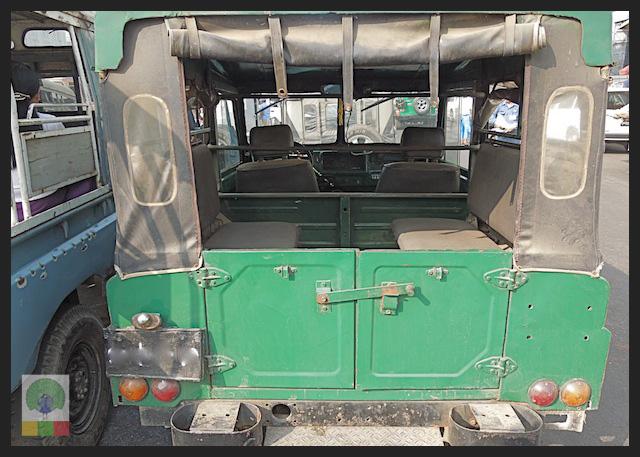 Mazda Pathfinder Station Wagon XV-1 SW 4x4 Myanmar (Burma) Military Mazda Jeep