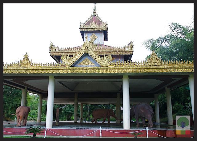 Royal White Elephant Garden - Hsin Hpyu Daw Park - Insein Township - Yangon - Myanmar (Burma) 3