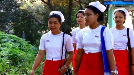 Myanmar Nurse