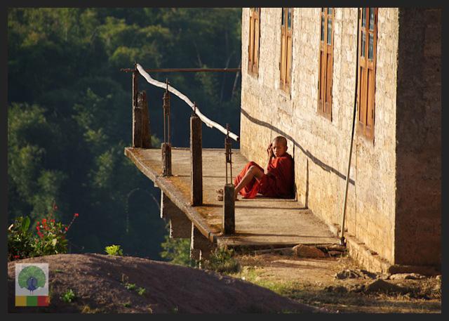 Novice Monks - Monastery - Inle Lake - Myanmar (Burma) 3