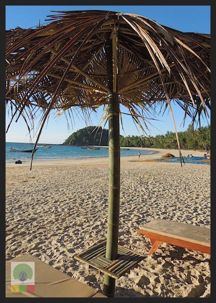Bamboo Beach Umbrella - Myanmar (Burma)