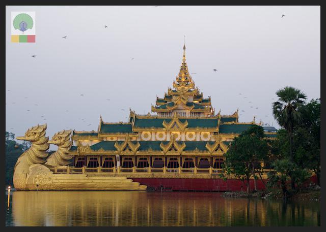 Kandawgyi Lake - Karaweik - Yangon - Myanmar (Burma) 3