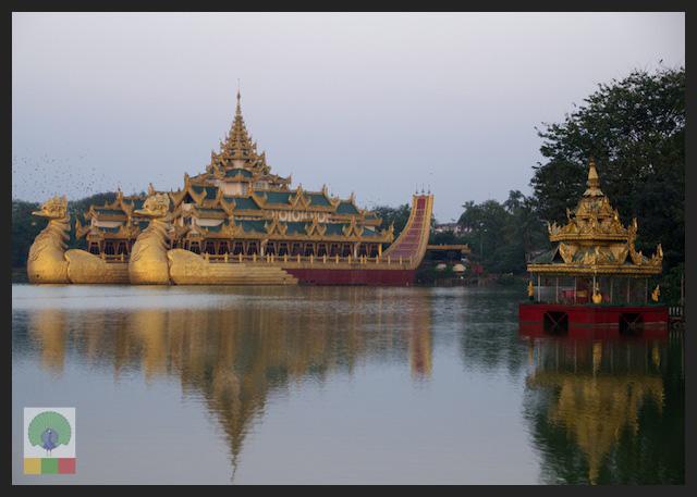 Kandawgyi Lake - Karaweik - Yangon - Myanmar (Burma)