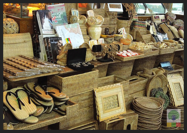 Shopping Cane Items in Yangon - Bogyoke Aung San Market (former Scott's Market) - Myanmar (Burma)