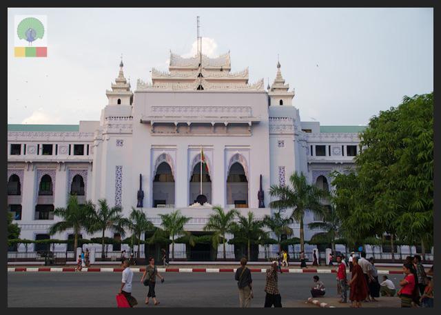 Yangon City Hall - Myanmar (Burma) 3