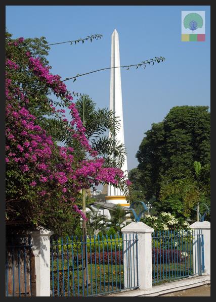 Independence Monument near Sule Paya - Yangon - Myanmar (Burma)