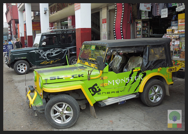 4x4 Jeep Car - Myanmar (Burma) 3