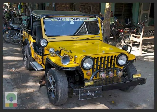 Myanmar-Style Jeep