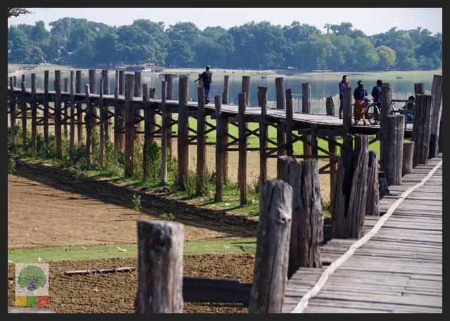U Bein Teak Bridge - Amarapura - Mandalay - Myanmar (Burma)
