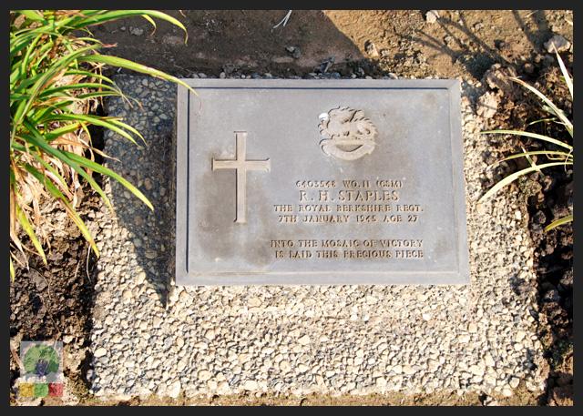 Taukkyan war cemetery - near Yangon - grave 3 - Myanmar Travel Essentials