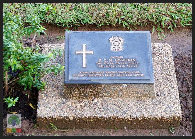 Taukkyan war cemetery - near Yangon - grave - Myanmar Travel Essentials