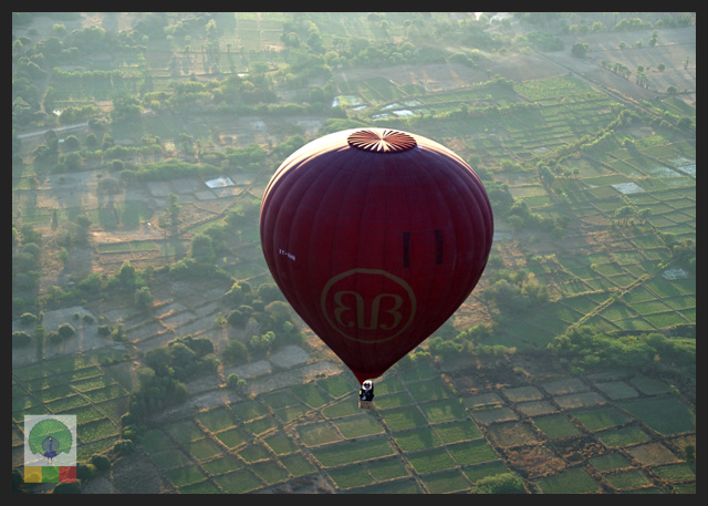 Ballooning Over Bagan: Ancient Temples from the Sky