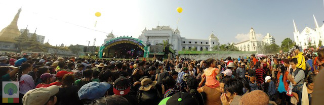 Thingyan-Yangon-City-Hall-Water-Festival-Myanmar-Travel-Essentials