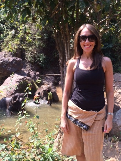 Amy - Green Valley Elephant Camp - Myanmar Travel Essentials 2