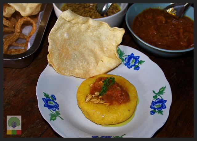 Shan Yellow Rice - Delicious Myanmar