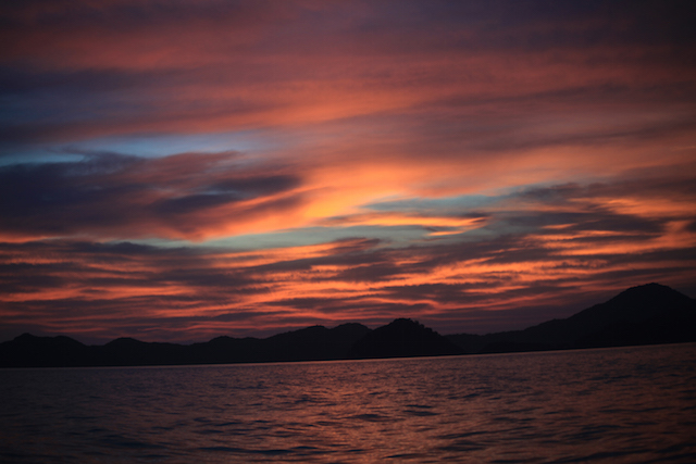Sunset - Myeik - Mergui Archipelago - Myanmar Travel Essentials