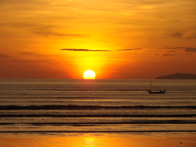 maung ma gan sunset - dawei - myanmar travel essentials