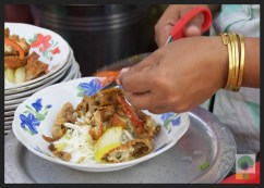 Street Snack Tour - Samosa Salad - Myanmar Travel Essentials