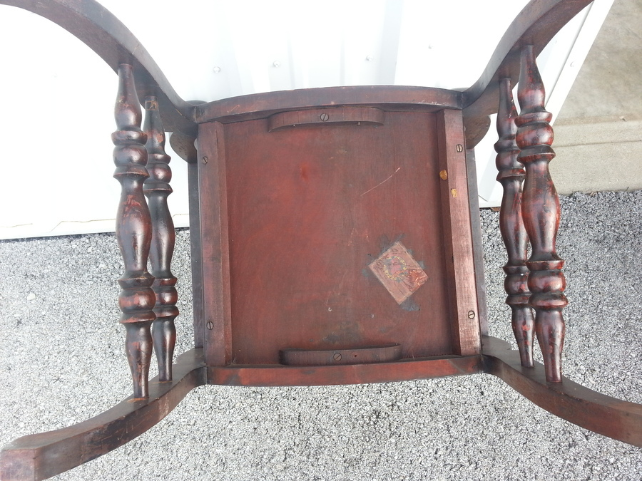 Stomps Burkhardt Chair My Antique Furniture Collection