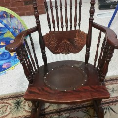 Antique Rocking Chairs Value Desk Chair Heater Can You Identify The Style And Age Of These Chairs? | My Furniture Collection