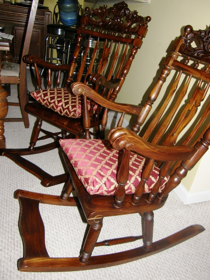 antique rocking chair identification www office chairs i'm trying to identify 2 | my furniture collection
