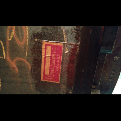 Sikes Chair Company Royal Blue Accent I Have A & Rocking With Paper Labels Indicating Js Ford Johns...   My Antique ...