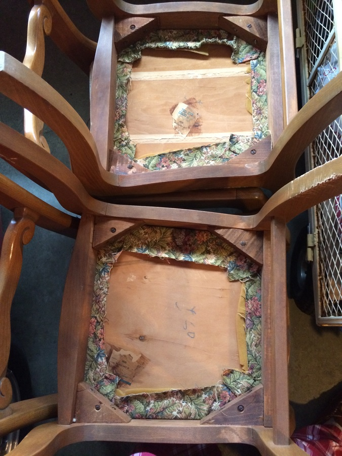 duncan phyfe chairs toddler chair for eating tell city with acorns on back | my antique furniture collection