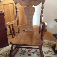 Antique Wooden Rocking Chairs Patio Chair Clearance Sikes Oak | My Furniture Collection