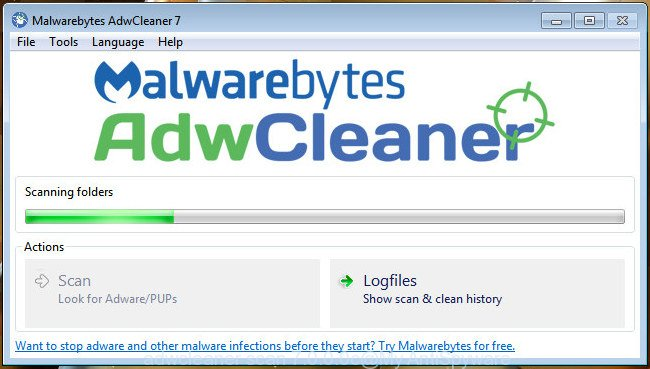 Removing About:Blank with the Help of Malwarebytes