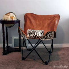 Leather Chair Covers The Best Protection Volcanic Hanging Diy Butterfly Cover Monthly Challenge