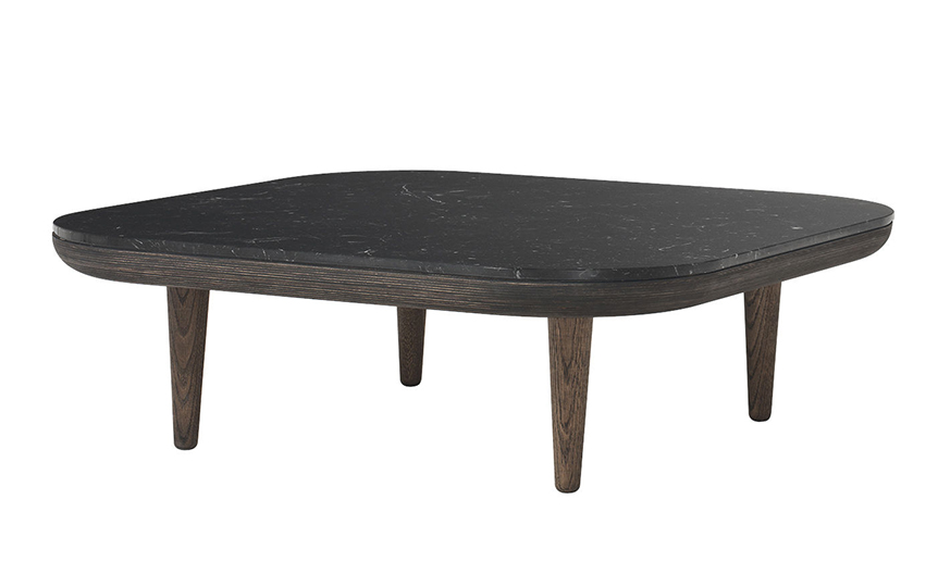 and tradition coffee table fly sc4 smoke grey marquina black solid oak oiled marble
