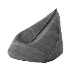 Gandia Blasco Clack Chair Desk Vintage Gan Of Pouf Bag Sail Black Wool