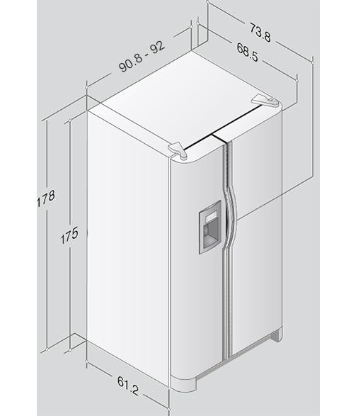 MABE GENERAL ELECTRIC frigorifero a libera installazione