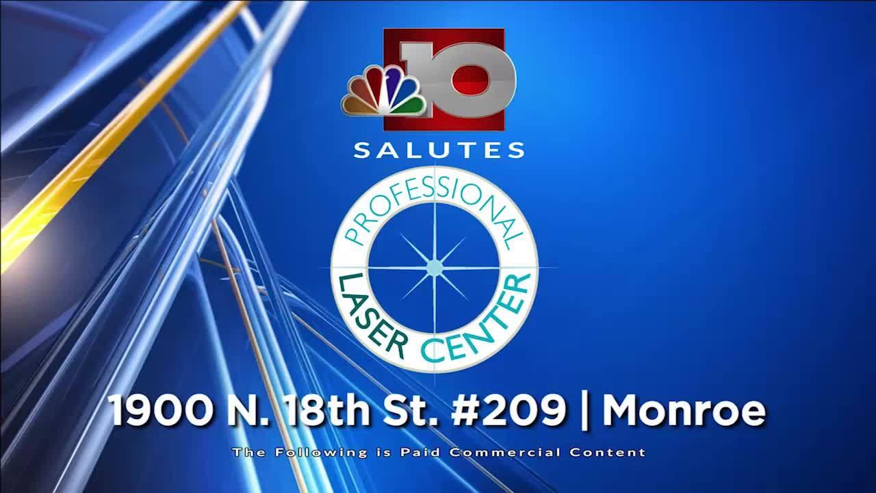 Professional Laser NBC 10 Salutes