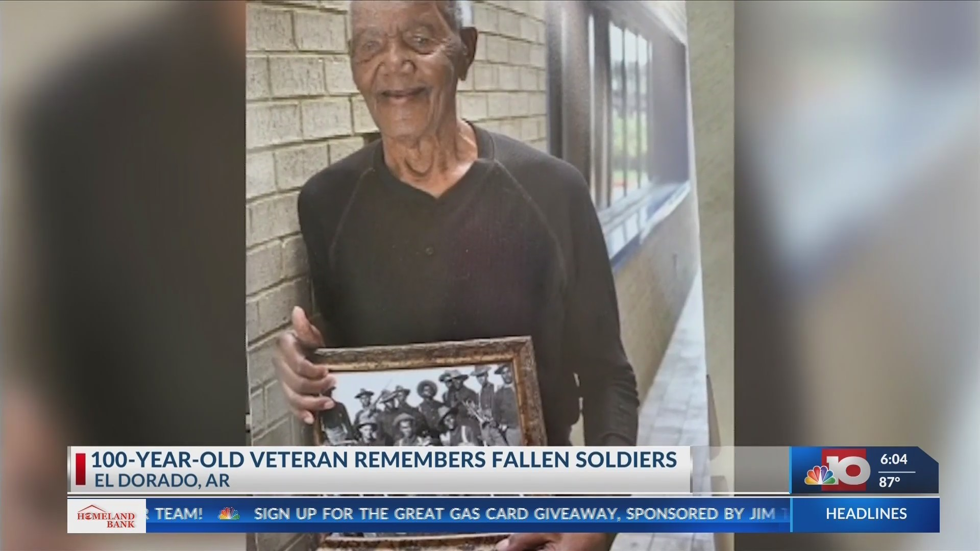 As another Memorial Day comes to a close, one Worl War II Veteran is reflecting on his war experiences and the comrades who have gone on before him.