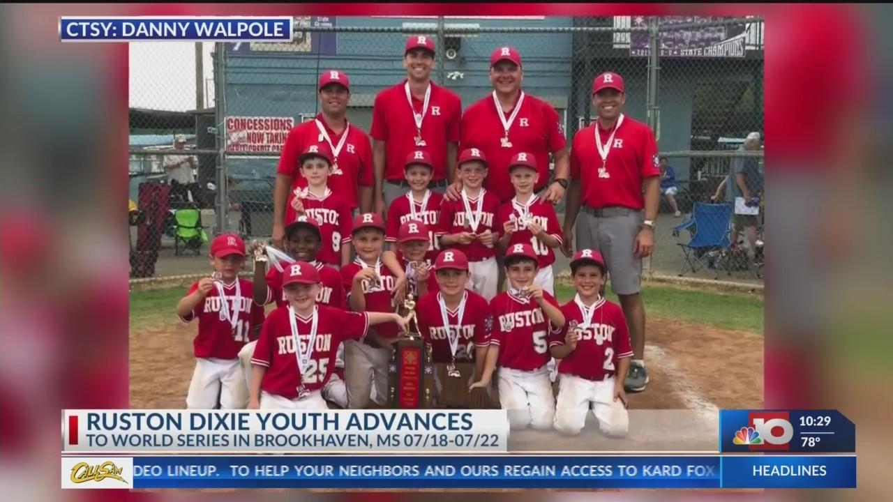 Ruston 7U baseball team advances to Dixie World Series   KTVE