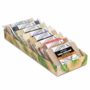 Set / 8 Minipeelingseifen Moringa, Turmeric
