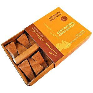 mini cones-sandelholz