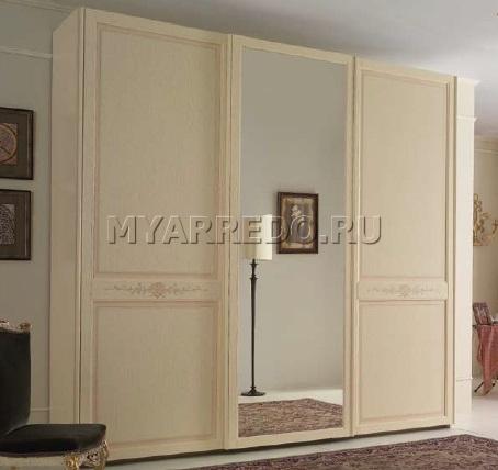 Sale Armadio in magazzino Mosca MyArredo MDF Specchio Lunghezza 268cm Altezza 252cm