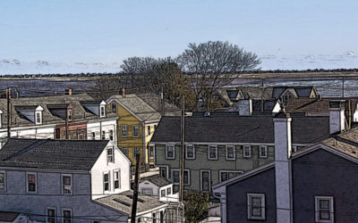Roof tops of Newburyport