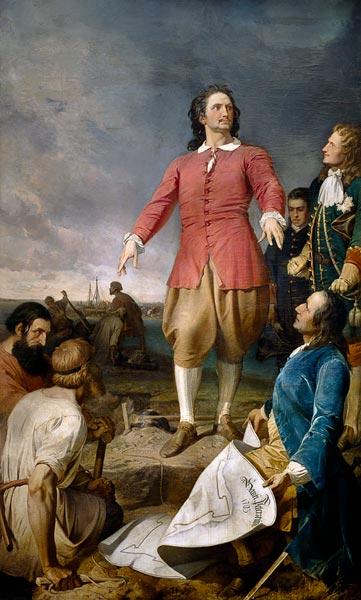 Alexander von Kotzebue - The great one founds Peter for Petersburg