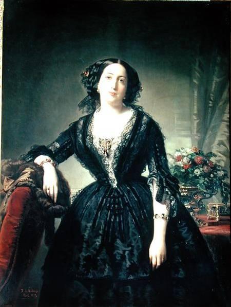 Federico de Madrazo y Kuntz - Portrait of Maria Dolores Aldama, Marquesa de Montelo