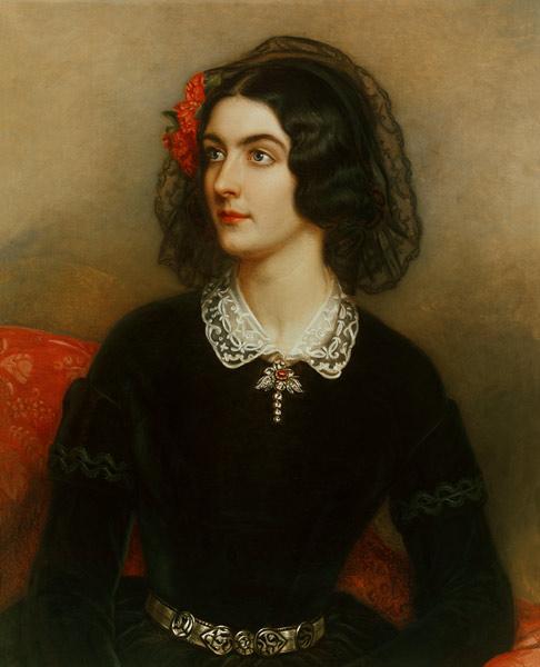 Joseph Karl Stieler - Portrait the Lola Montez (1820-1861)