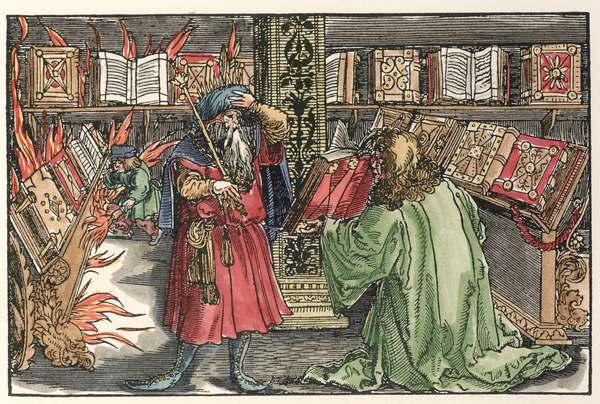 Girl Reading Book Wallpapers Petrarca Master Library Of Alexandria Artist Artist As