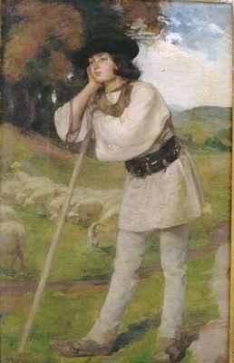 Shepherd by Strambu Ipolit, 1871-1934