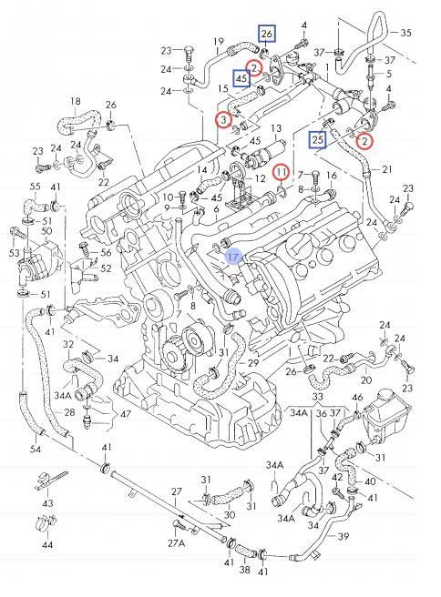 B5 S4 Engine Diagram. Diagrams. Auto Parts Catalog And Diagram