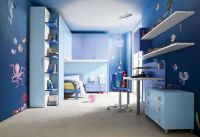 Amazing Ocean Blue Room Decor Ideas for Teenage Boys